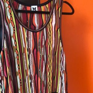 Missoni knit tank dress